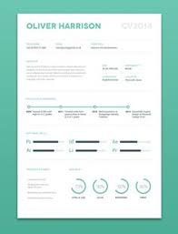 ui design cv infographic resume design inspiration cool cvs and resumes