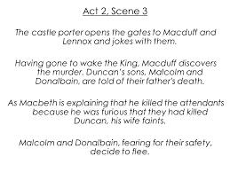 themes of macbeth act 2 scene 1 macbeth william shakespeare ppt video online download