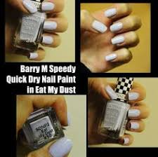 michelaismyname notd barry m speedy quick dry nail paint in a