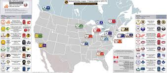 Buffalo State Map by Hockey Billsportsmaps Com