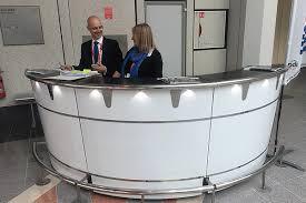 Exhibition Reception Desk Reception Desks U0026 Units Eventex Furniture
