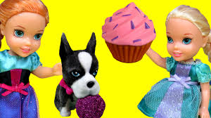cupcakes gummy bears afraid of ants u0026 dogs elsa anna toddlers