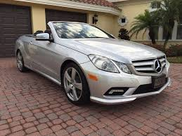 2011 mercedes for sale 2011 mercedes e550 cabriolet for sale by autohaus of naples