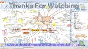 cara membuat mind map manual cara membuat mind mapping youtube