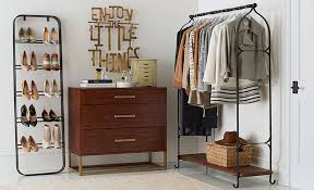 To Organize How To Organize A Closet For Two Pottery Barn