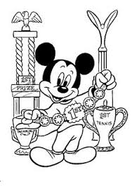 mickey mouse printable coloring pages birthday gift ideas