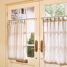 Half Window Curtains Half Curtain For Kitchen Window Innards Interior