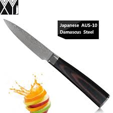 meilleur marque de couteau de cuisine acheter xyj marque 3 5 pouce couteau à éplucher japonais aus 10