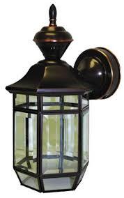 Dusk To Dawn Motion Sensor Outdoor Lighting Antique Copper 13 1 2