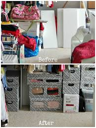 spring cleaning and organizing results before and after photos