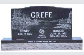 monuments for two 2 grave granite monuments for chicago il cemeteries