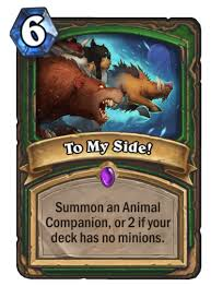 to my card to my side is the worst hearthstone card released hearthstone
