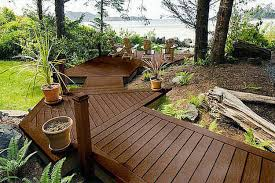 patio landscaping deck and designs for walkout basement clipgoo