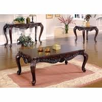 End Tables For Living Room Tuscan Villa Traditional Formal Sofa Set