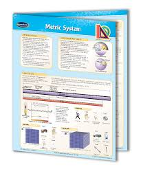 quick study guides metric system study guide quick reference resource