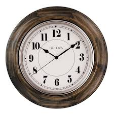 Wooden Wall Clock Wall Clocks Large Selection Major Brands At Clock Shops Com