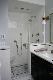 tile simple white shower tiles home design great classy simple