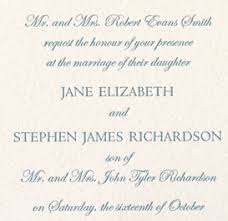proper wedding invitation wording proper etiquette for wedding invitations plumegiant