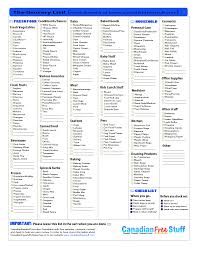 Grocery List Word Template Grocery Shopping List With Walmart Price Matching Section And Menu