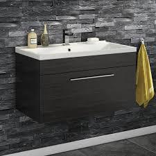 Wooden Vanity Units For Bathrooms Black Bathroom Cabinet