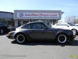 porsche slate gray metallic 1989 porsche 911 carrera turbo in slate grey metallic 050574