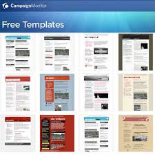 30 free email templates from campaignmonitor com