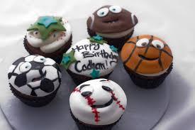 the crimson cake blog sports happy face cupcakes