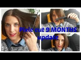 nine months later its a bob from pixie cut to bob haircut nine 9 months pixie cut hair growth sonika youtube youtube