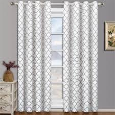 White Darkening Curtains Gray And White Room Darkening Curtains 11emerue