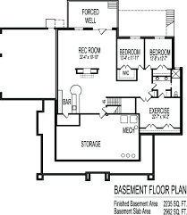 single house plans with basement one house plans with basement one floor plans basements
