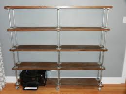 galvanized pipe bookshelves american hwy