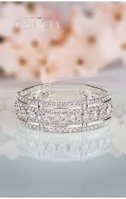 crystal bridal bracelet images Bridal jewelry topgracia handmade bridesmaid bridal hair jpg