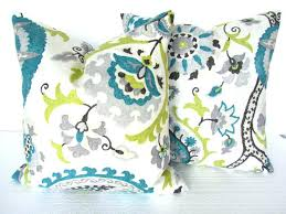 blue and gray sofa pillows bright colored pillows new lime green throw pillows or blue and gray
