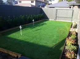 popular backyard golf green for aussie golfers