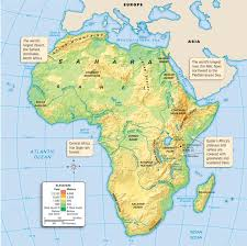 world map mountains rivers deserts map of africa thinglink