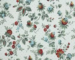 vintage dark floral wallpaper etsy