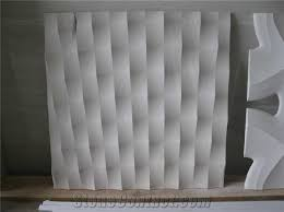 cnc carving marble building ornaments 3d wall panels from china