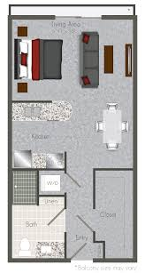 Studio Loft Apartment Floor Plans by Lofts In Houston For Rent Floor Plans For Mid Main Apartments