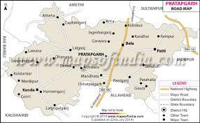 road map up pratapgarh road map uttar pradesh