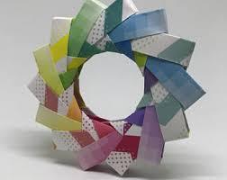 origami rainbow etsy