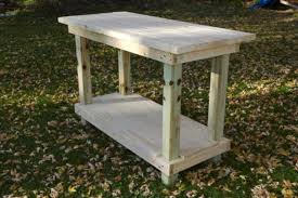 Plans For A Simple End Table by 49 Free Diy Workbench Plans U0026 Ideas To Kickstart Your Woodworking