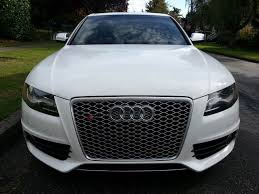 audi a4 b8 grill upgrade phantom black b8 with rs4 grille silver mesh