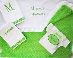 Baptism Blanket Personalized Irish Baby Blanket Etsy