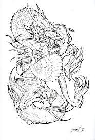 29 best dragon tattoo stencils images on pinterest dragon