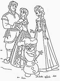 frozen coloring pages images coloring pages images pinterest