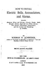 how to install electric bells annunciators and alarms including