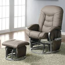 articles with chairs with ottomans tag modern nursery glider
