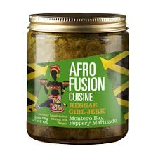 afro fusion cuisine reggae marinade and sauces