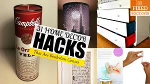 31 genius home decor ideas new v o youtube