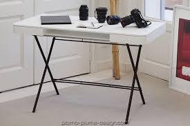 bureau blanc moderne cosimo bureau blanc laqué fonctionnel et moderne de la marque